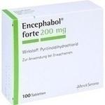 Verpackungsbild(Packshot) von ENCEPHABOL forte 200 mg überzogene Tabletten