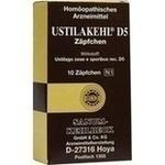 Verpackungsbild(Packshot) von USTILAKEHL D 5 Suppositorien