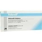 Verpackungsbild(Packshot) von FOLARELL Injektionslösung