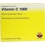 Verpackungsbild(Packshot) von VITAMIN C 1000 Ampullen