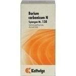 Verpackungsbild(Packshot) von SYNERGON KOMPLEX 138 Barium carbonicum N Tabletten