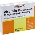 Verpackungsbild(Packshot) von VITAMIN B1-RATIOPHARM 50 mg/ml Inj.Lsg.Ampullen