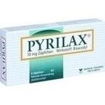 Verpackungsbild(Packshot) von PYRILAX 10 mg Suppositorien