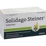 Verpackungsbild(Packshot) von SOLIDAGO STEINER Tabletten