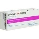Verpackungsbild(Packshot) von JODETTEN 200 Henning Tabletten