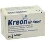 Verpackungsbild(Packshot) von KREON für Kinder Granulat