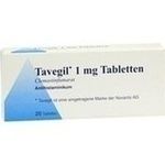 Verpackungsbild(Packshot) von TAVEGIL Tabletten
