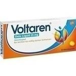 Verpackungsbild(Packshot) von VOLTAREN Dolo Liquid 25 mg Weichkapseln