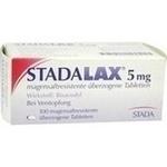Verpackungsbild(Packshot) von STADALAX 5 mg magensaftresist.überz.Tabletten