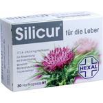 Verpackungsbild(Packshot) von SILICUR für die Leber Hartkapseln