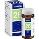 Verpackungsbild(Packshot) von BIOCHEMIE Orthim 26 Selenium D 12 Tabletten