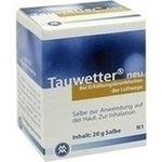 Verpackungsbild(Packshot) von TAUWETTER SALBE Neu