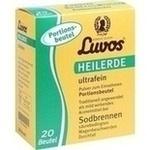 Verpackungsbild(Packshot) von LUVOS Heilerde ultrafein Portionsbeutel