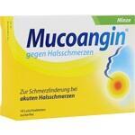 Verpackungsbild(Packshot) von MUCOANGIN Minze 20 mg Lutschtabletten