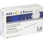 Verpackungsbild(Packshot) von ASS + C-1A Pharma Brausetabletten