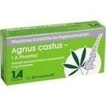 Verpackungsbild(Packshot) von AGNUS CASTUS-1A Pharma Filmtabletten