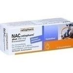 Verpackungsbild(Packshot) von NAC-ratiopharm akut 200 mg Hustenlöser Brausetabl.