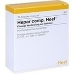 Verpackungsbild(Packshot) von HEPAR COMP.Heel Ampullen