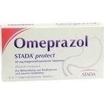 Verpackungsbild(Packshot) von OMEPRAZOL STADA protect 20 mg magensaftr.Tabletten