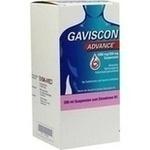 Verpackungsbild(Packshot) von GAVISCON Advance Suspension