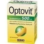 Verpackungsbild(Packshot) von OPTOVIT fortissimum 500 Kapseln
