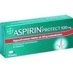 Verpackungsbild(Packshot) von ASPIRIN Protect 100 mg magensaftres.Tabletten