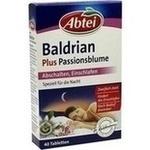 Verpackungsbild(Packshot) von ABTEI Baldrian plus Passionsblume überz.Tabl.
