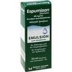 Verpackungsbild(Packshot) von ESPUMISAN Emulsion