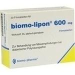 Verpackungsbild(Packshot) von BIOMO-lipon 600 mg Filmtabletten