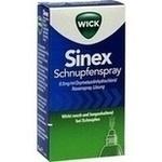 Verpackungsbild(Packshot) von WICK Sinex Schnupfenspray
