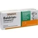 Verpackungsbild(Packshot) von BALDRIAN-RATIOPHARM überzogene Tabletten