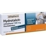 Verpackungsbild(Packshot) von HYDROTALCIT-ratiopharm 500 mg Kautabletten