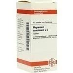 Verpackungsbild(Packshot) von MAGNESIUM CARBONICUM C 6 Tabletten
