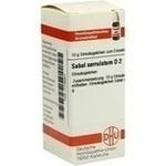 Verpackungsbild(Packshot) von SABAL SERRULATUM D 2 Globuli