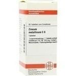 Verpackungsbild(Packshot) von ZINCUM METALLICUM C 6 Tabletten