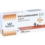 Verpackungsbild(Packshot) von FOL Lichtenstein 5 mg Tabletten