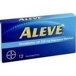 Verpackungsbild(Packshot) von ALEVE Filmtabletten