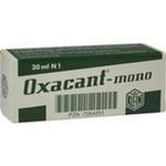 Verpackungsbild(Packshot) von OXACANT mono Tropfen