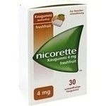 Verpackungsbild(Packshot) von NICORETTE 4 mg freshfruit Kaugummi