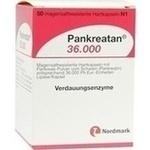 Verpackungsbild(Packshot) von PANKREATAN 36.000 magensaftresistente Hartkapseln