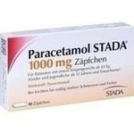 Verpackungsbild(Packshot) von PARACETAMOL STADA 1.000 mg Zäpfchen