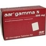 Verpackungsbild(Packshot) von AAR GAMMA N 300 mg Dragees
