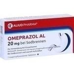 Verpackungsbild(Packshot) von OMEPRAZOL AL 20 mg b.Sodbr.magensaftres.Tabletten