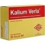 Verpackungsbild(Packshot) von KALIUM VERLA Granulat Btl.