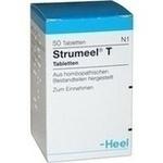 Verpackungsbild(Packshot) von STRUMEEL T Tabletten