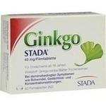 GINKGO STADA 40 mg Filmtabletten