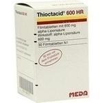 Verpackungsbild(Packshot) von THIOCTACID 600 HR Filmtabletten