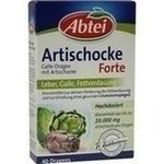 Verpackungsbild(Packshot) von ABTEI Galle-Dragee mit Artischocke