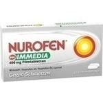 Verpackungsbild(Packshot) von NUROFEN Immedia 400 mg Filmtabletten