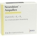 Verpackungsbild(Packshot) von NEUROBION Ampullen